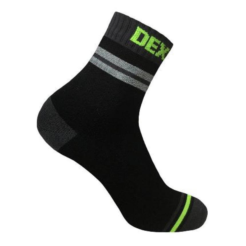 Носки водонепроницаемые DexShell Pro Visibility Cycling M серый