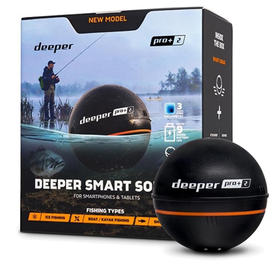 Беспроводной эхолот Deeper Smart Sonar Pro+ 2.0