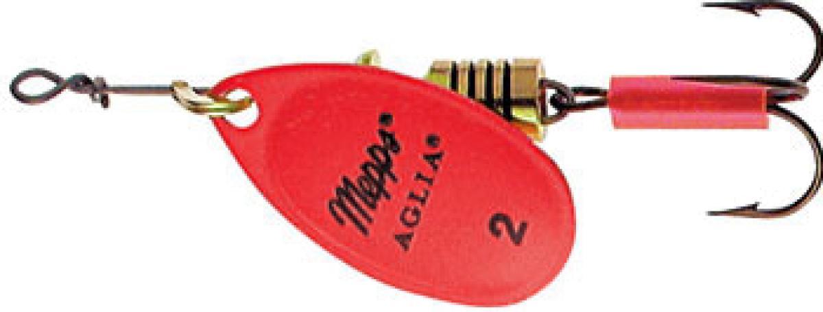 Блесна Mepps Aglia Fluo 2 Rose 4,5гр блистер
