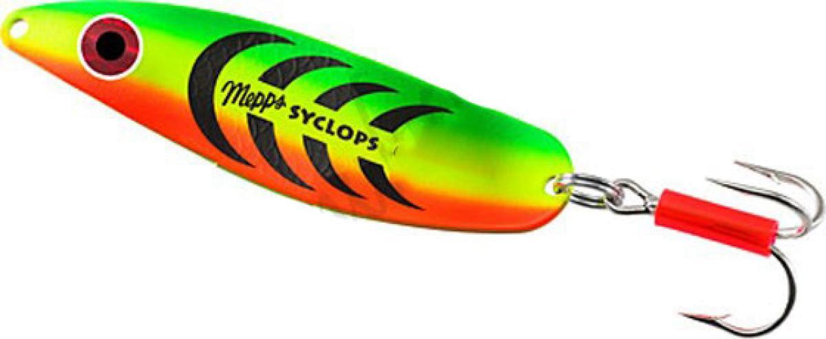 Блесна Mepps Syclops 3 Tiger 26гр блистер