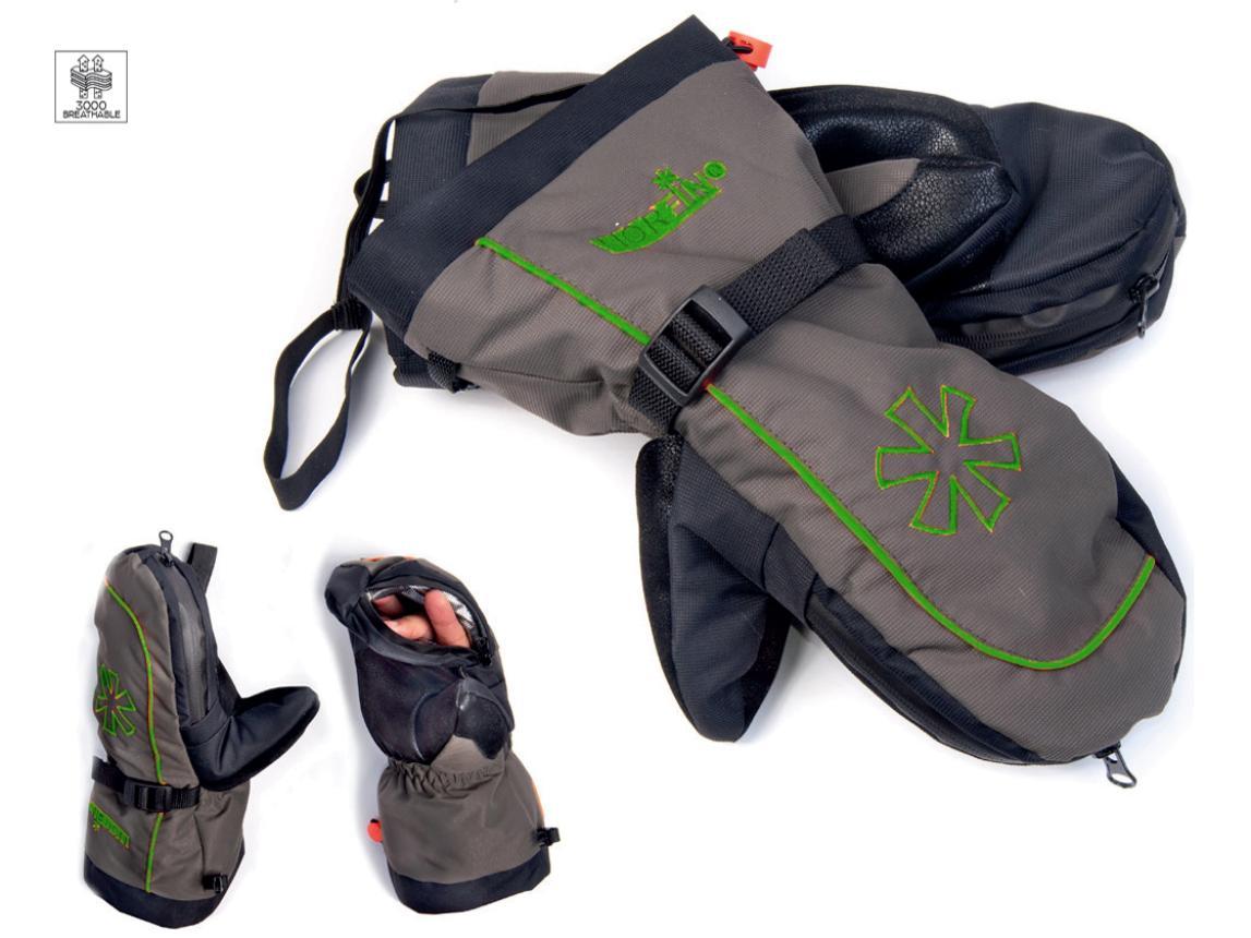 Варежки Norfin Comfort Zip XL Green