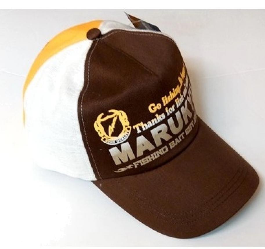Кепка Marukyu коричневый