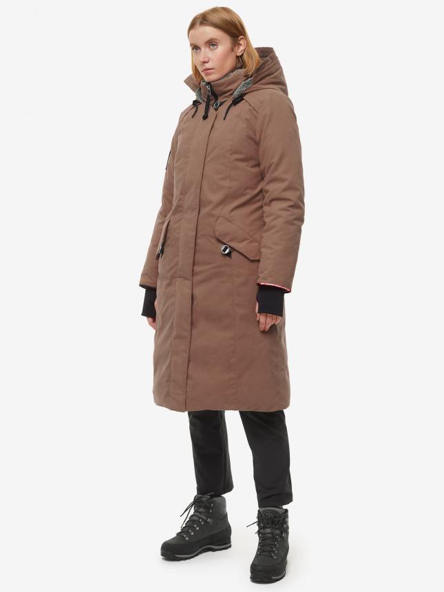 Пальто Bask Hatanga V4 44 шоколадный