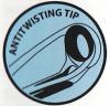 Antitwisting Tip