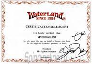 Сертификат официального дистрибьютора Waterland
