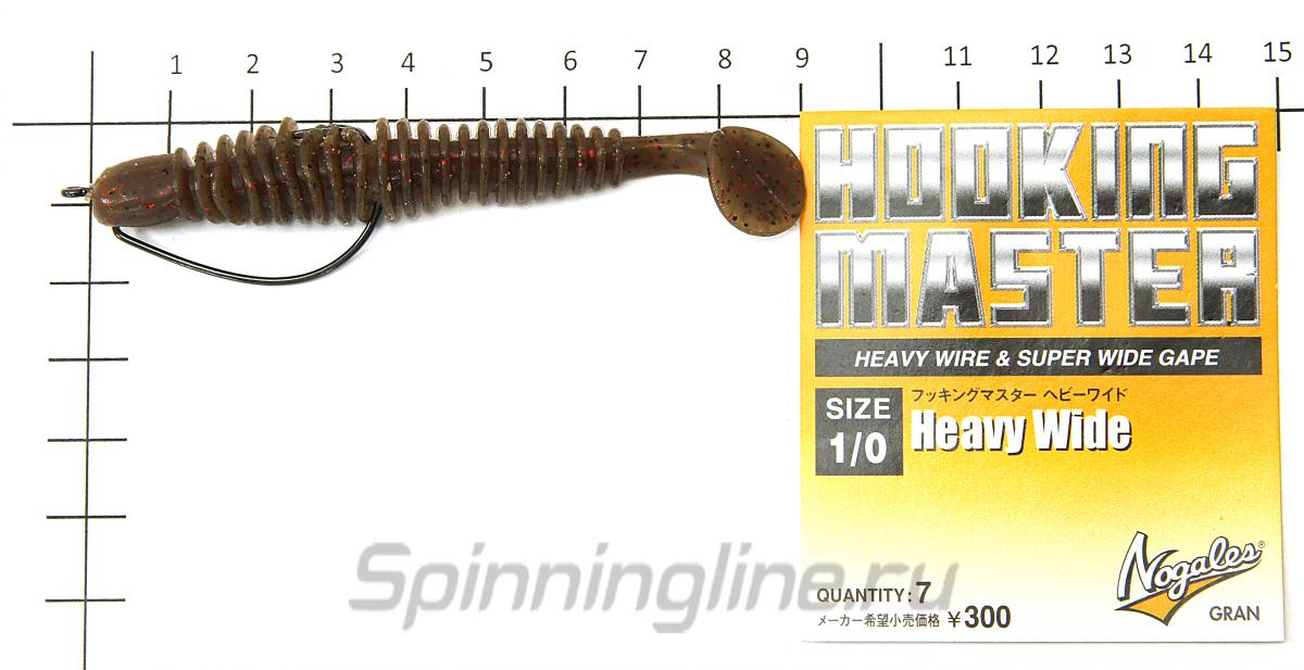 """Приманка Bubbring Shad 3"""" 010 Long Arm Shrimp - фотография оснащения приманок 3"""