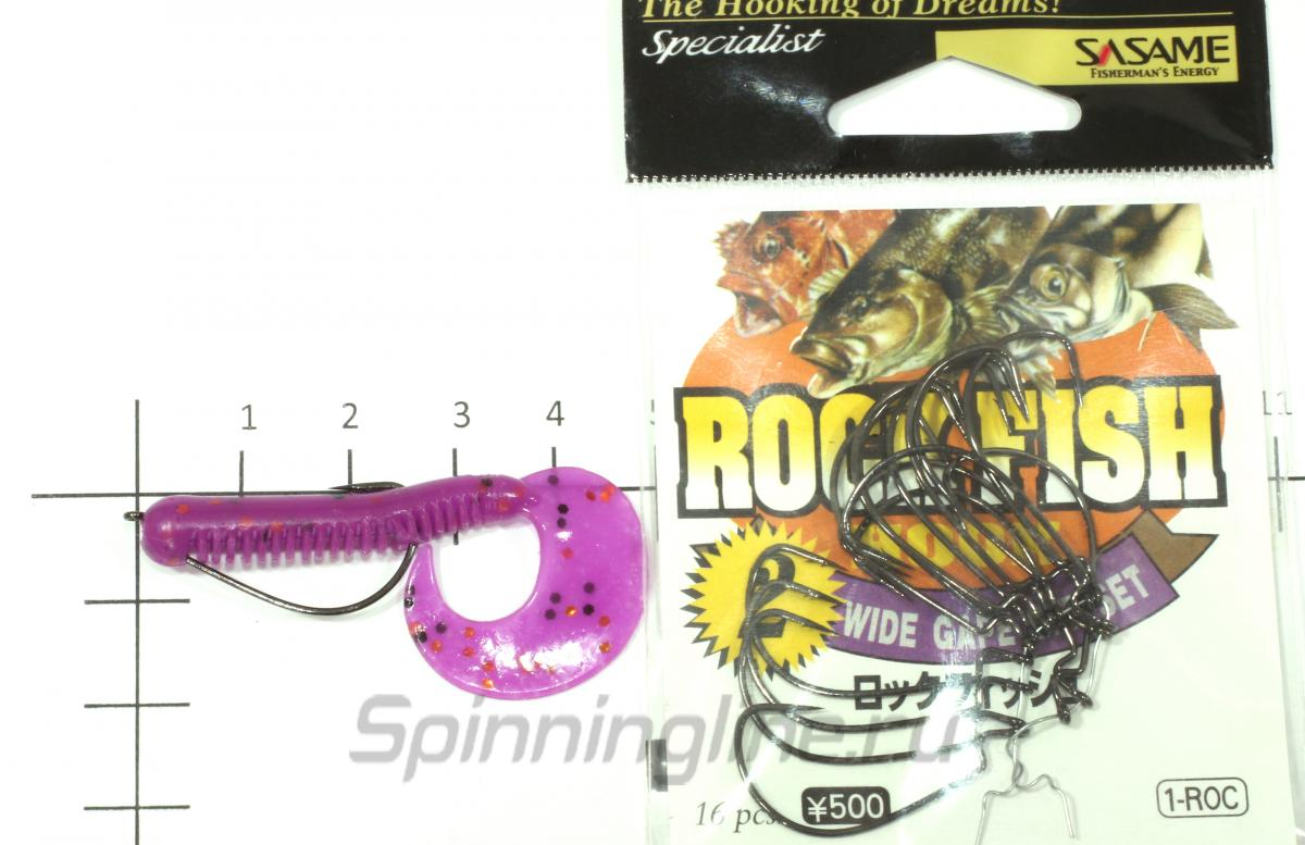 Приманка Lucky John Chunk Tail 50/F05 - фотография оснащения приманок 1