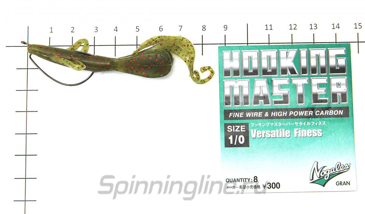 """Приманка Hog Little 3"""" 007 Ebimiso SP - фотография оснащения приманок 2"""
