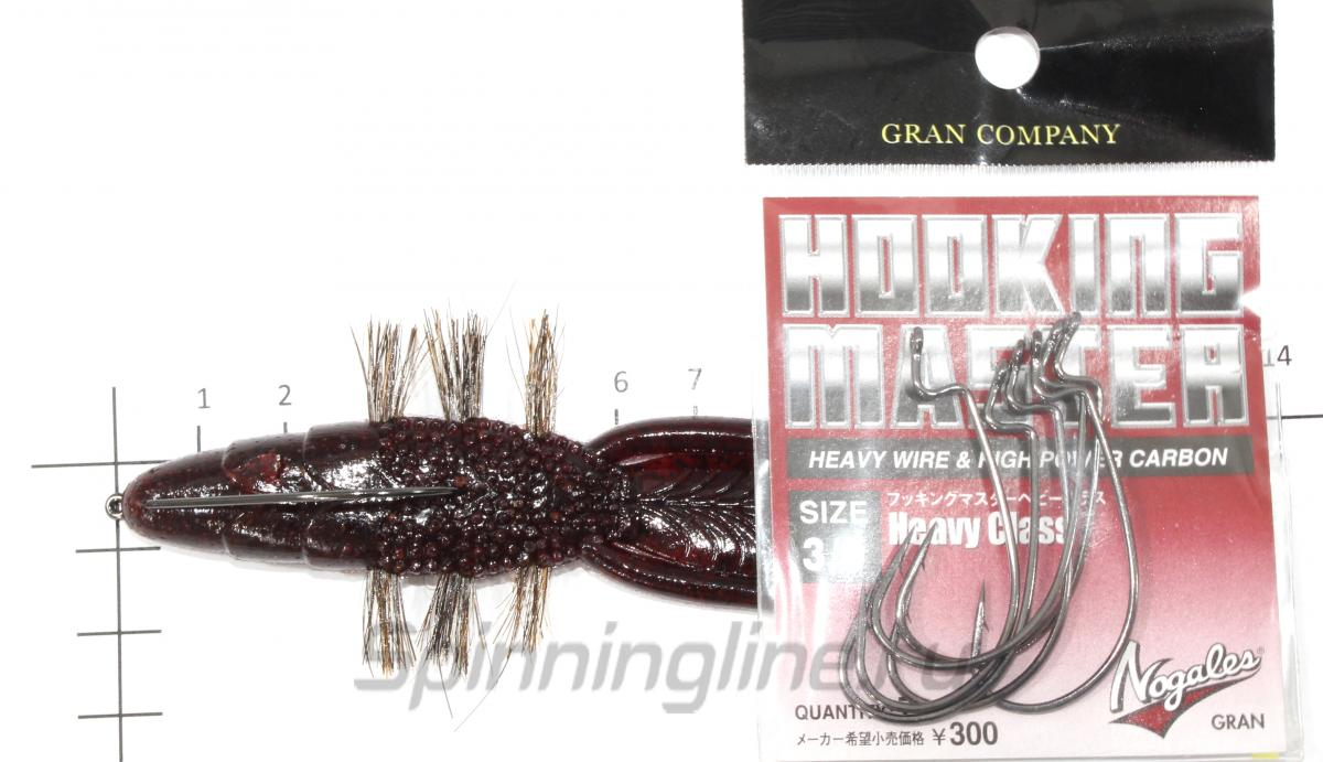 "Bait Breath - Bys Shrimp 4.5"" dark red 139B - ���������� ��������� ��������"