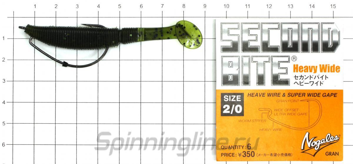 Приманка Kosadaka Hart Shad 75 GR - фотография оснащения приманок 1