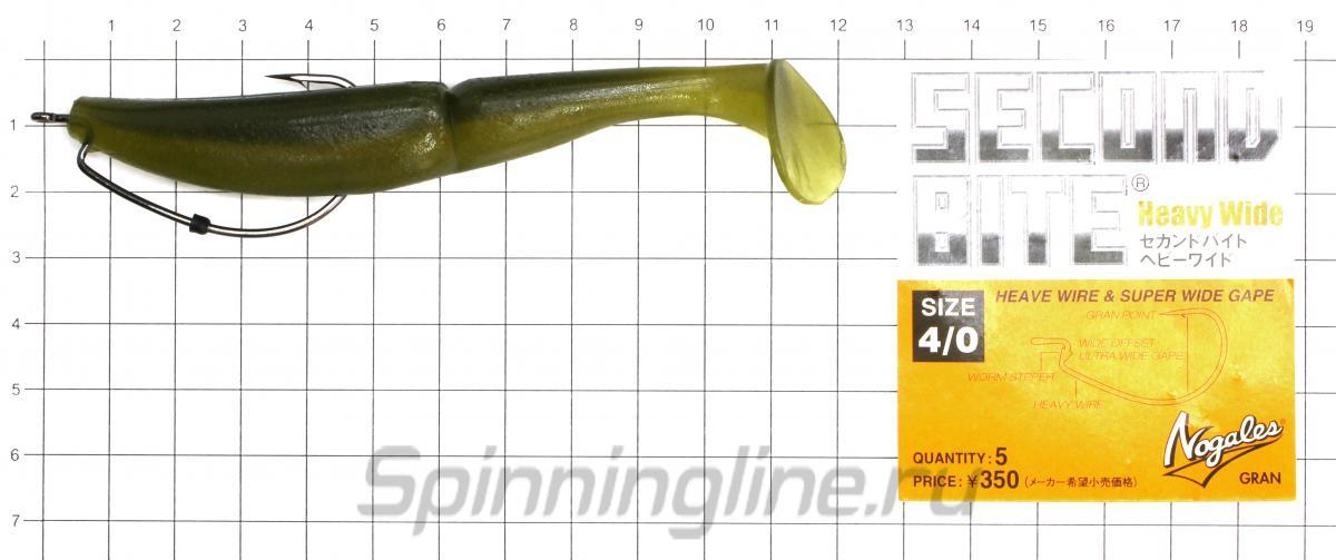 Приманка Sawamura OneUp Shad 5 20 - фотография оснащения приманок 1