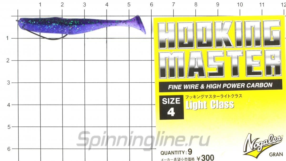 "Приманка Keitech Easy Shiner 2"" Lime Chart Shad - фотография оснащения приманок 4"