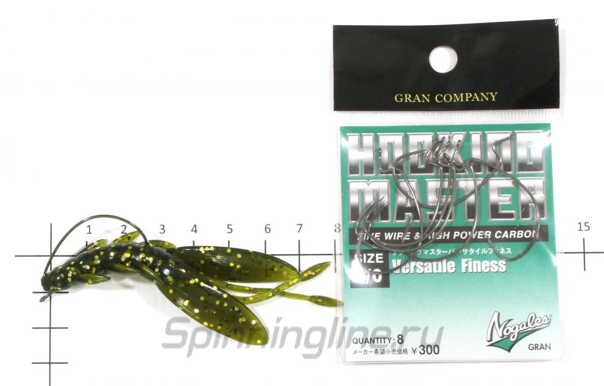 Приманка Tiny Craw 85 chartreuse - фотография оснащения приманок 1