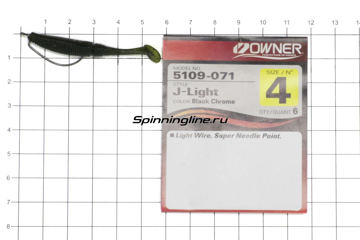 Приманка Allvega Power Swim 50 gold shine minnow - фотография оснащения приманок 3
