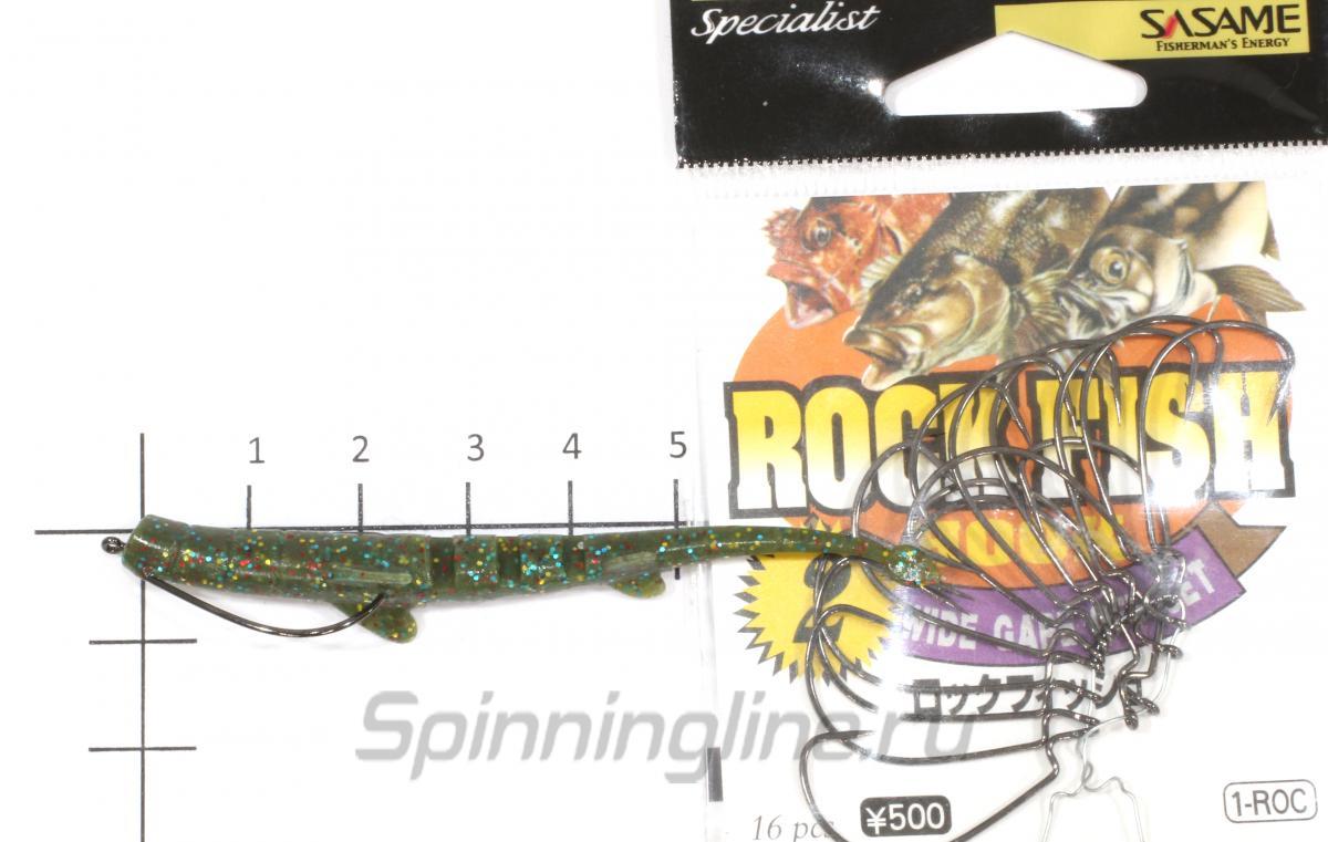 Приманка Unagi Slug 76/F08 - фотография оснащения приманок 1