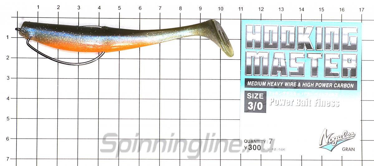 Приманка Narval Choppy Tail 100 008-Smoky Fish - фотография оснащения приманок 3