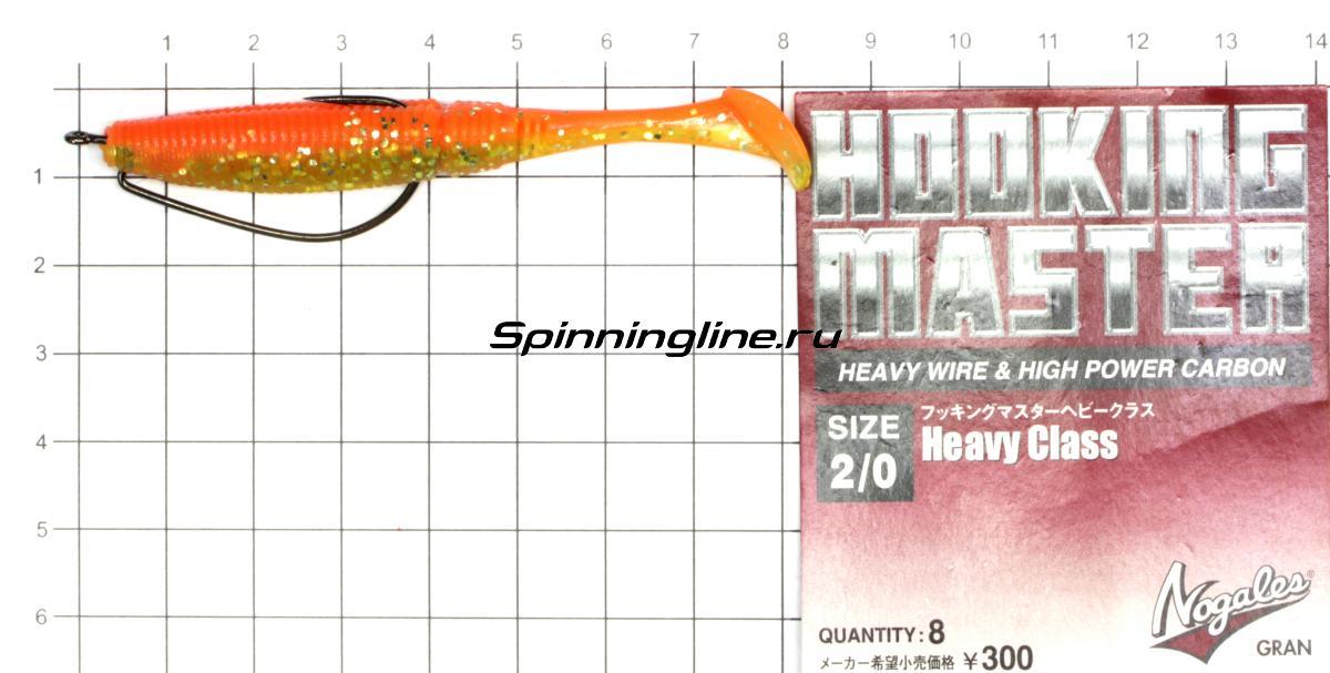 Приманка Scorpio SB3003 70 040 squid - фотография оснащения приманок 2