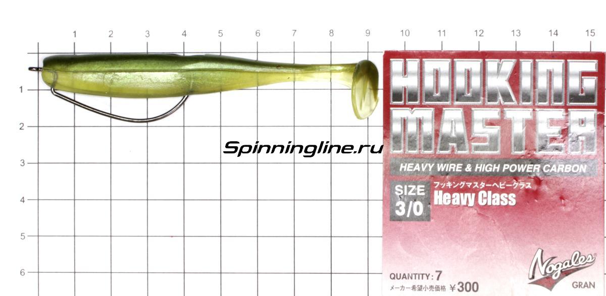 Приманка Scorpio SB4001 100 006 seafood - фотография оснащения приманок 1