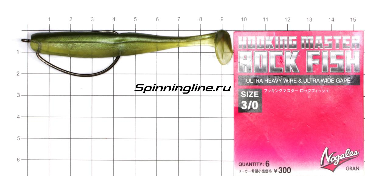 Приманка Scorpio SB4001 100 006 seafood - фотография оснащения приманок 2