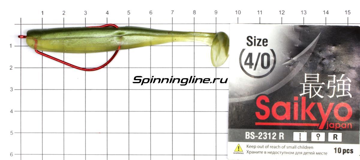 Приманка Scorpio SB4001 100 006 seafood - фотография оснащения приманок 3