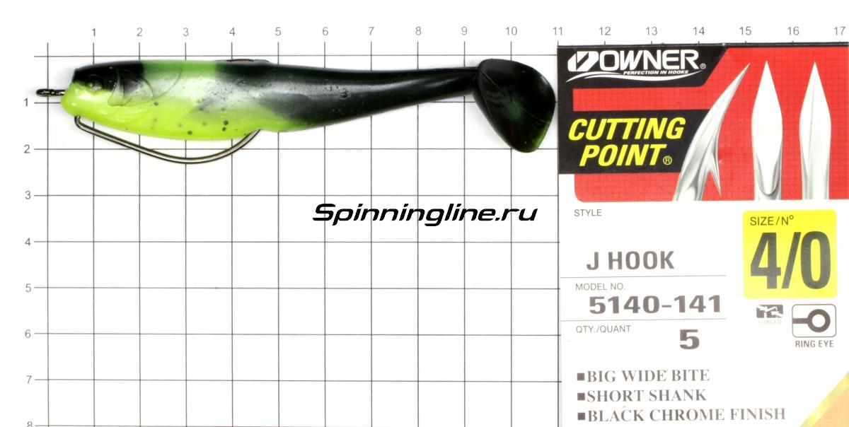 Приманка Scorpio SB4002 100 014 squid - фотография оснащения приманок 1