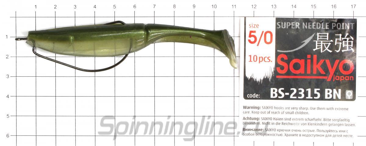 Приманка Scorpio SB4003 100 005 squid - фотография оснащения приманок 1