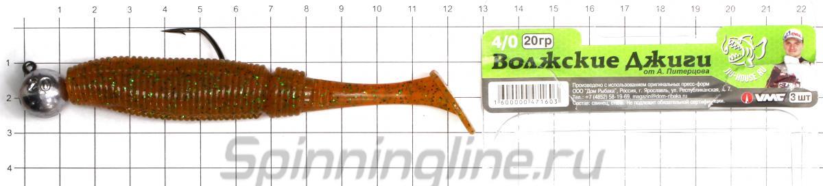 Приманка Scorpio SB4502 115 044 squid - фотография оснащения приманок 3