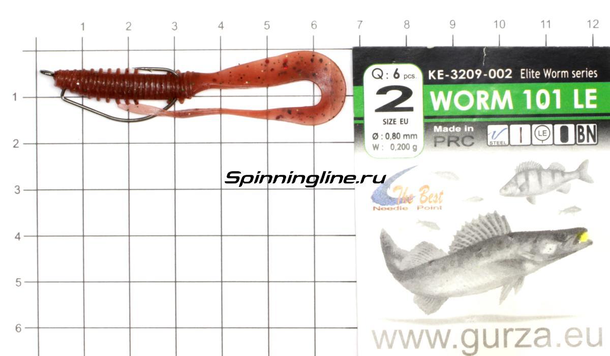 Приманка Scorpio SB2502 60 027 squid - фотография оснащения приманок 1