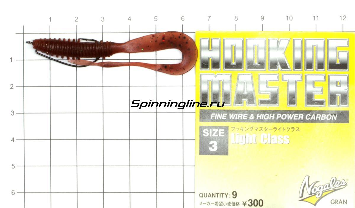 Приманка Scorpio SB2502 60 027 squid - фотография оснащения приманок 2