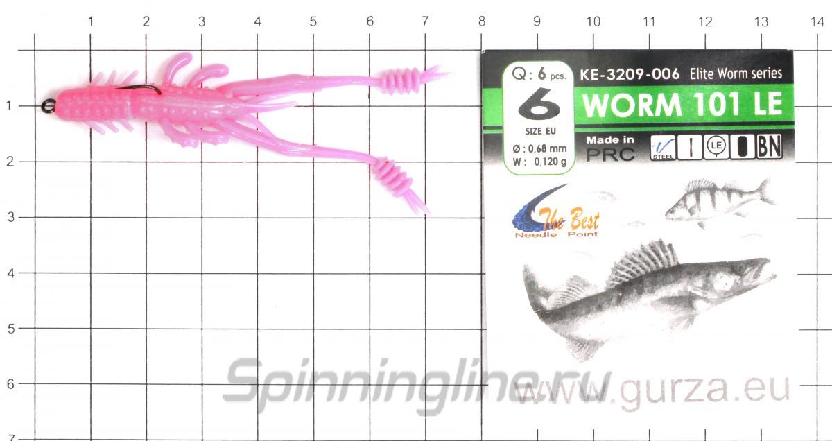 """Приманка Select Sexy Shrimp 3"""" 888 - фотография оснащения приманок 3"""