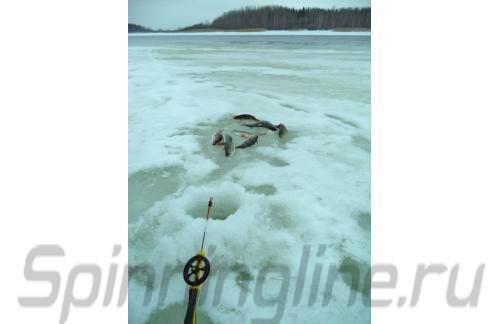 Удочка зимняя Icehunter Sport Y желтая - фотография загружена пользователем 12