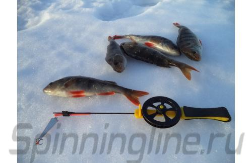 Удочка зимняя Icehunter Sport Y желтая - фотография загружена пользователем 21