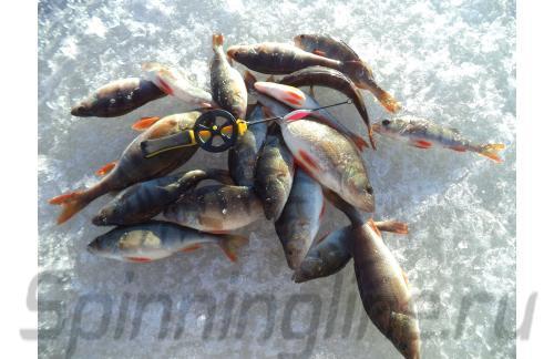 Удочка зимняя Icehunter Sport Y желтая - фотография загружена пользователем 4