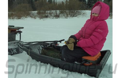 Удочка зимняя Icehunter Sport Y желтая - фотография загружена пользователем 7