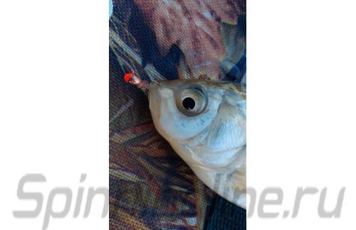 Lumicom - Мормышка Капля с ушком d3.2 золото с красной каплей - фотография пользователя