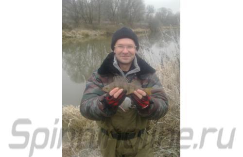 Blue Fish - Перчатки рыбацкие с 3-мя обрезанными пальцами (черный с красным) - фотография пользователя