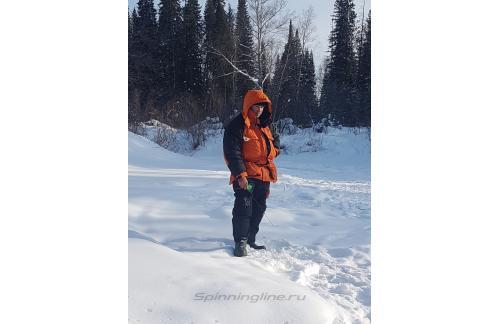 Костюм Alaskan Polar+ S кирпич - фотография пользователя
