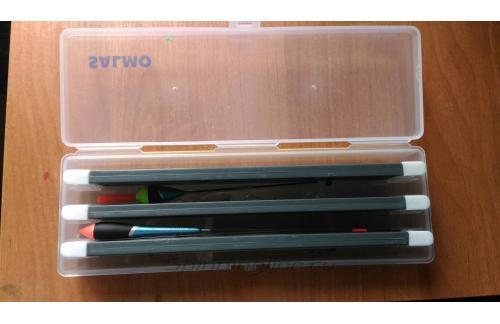 Коробка с пластиковым мотовилом Salmo 55 Line Winder - фотография загружена пользователем 1