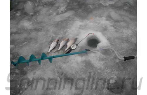 Ледобур Тонар ЛР-130Д - фотография пользователя