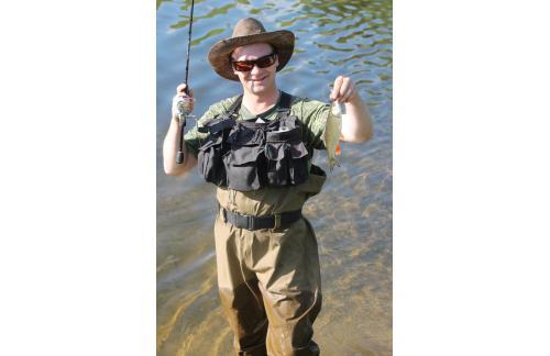Сумка для забродной рыбалки и нахлыста - фотография загружена пользователем 4