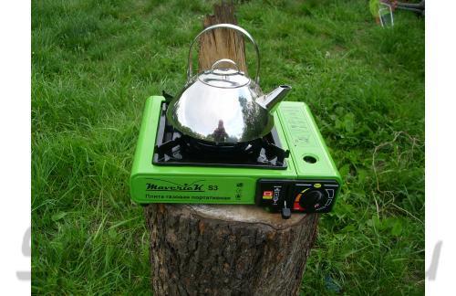 Газовая плита Maverick S-1 цв.зеленый - фотография пользователя