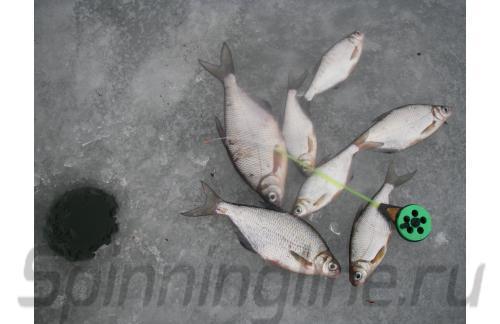 Удочка зимняя Три Кита Балалайка УС-3 красная - фотография пользователя