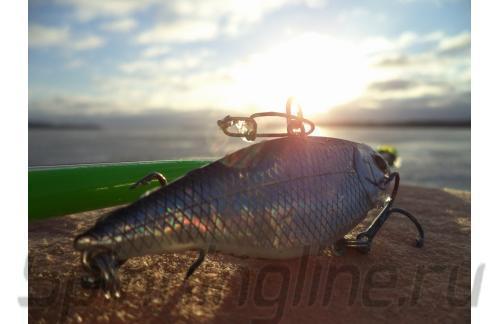 Воблер Hagane 64LS 0596 Bait Fish Silver - фотография загружена пользователем 2