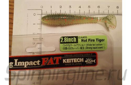 "Keitech - Swing Impact FAT 2.8"" Hot Fire Tiger - ���������� ������������"