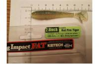 "Keitech - Swing Impact FAT 2.8"" Hot Fire Tiger - фотография пользователя"