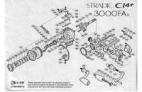 Shimano - Катушка Stradic CI4+ 3000 FA - фотография пользователя