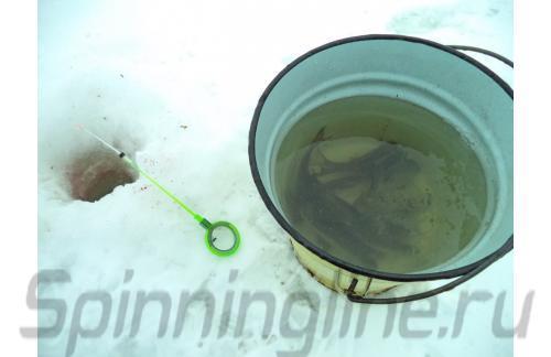 Удочка зимняя WH 50B L 150 зеленый/серый - фотография загружена пользователем 2