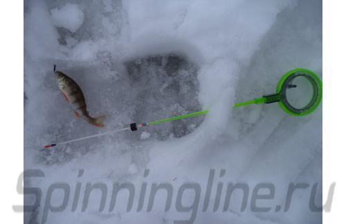 Удочка зимняя WH 50B L 150 зеленый/серый - фотография загружена пользователем 3