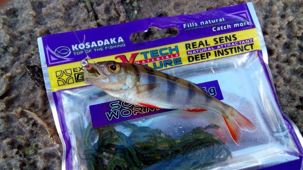 Приманка Kosadaka Soft Worm2F OD - фотография загружена пользователем 1