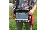 IdeaFisher - Пояс-держатель удилища+сумка спиннингиста Stakan 3.2 камуфляж - фотография пользователя